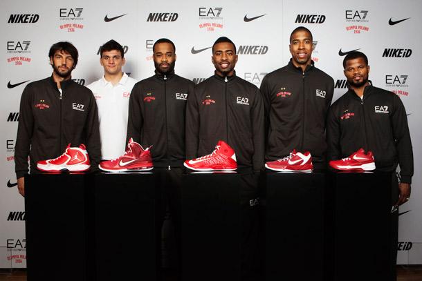 Con nike basketball le scarpette rosse sono tornate for Basketball store milano