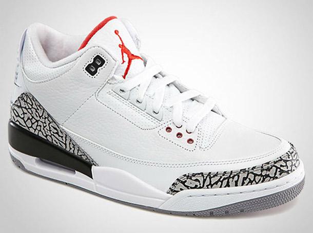 Jordan 3 Bianche